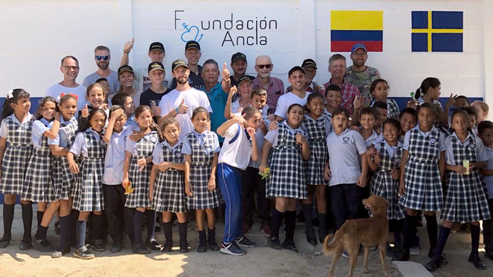 Vi bygger skolor i Colombia med Ankarstiftelsen